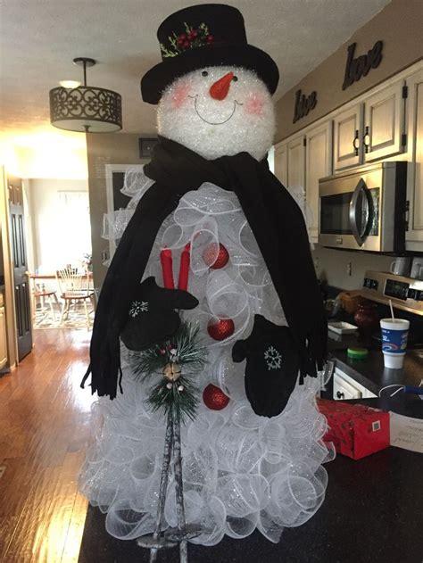pin  cindy fleming  crafts mesh christmas tree diy