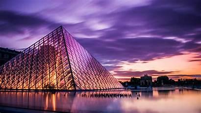 France Paris Louvre Travel Tourism Architecture Modern