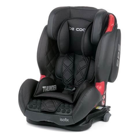 siege auto isofix groupe 1 2 3 crash test siège auto thunder isofix meteorite groupe 1 2 3 de be cool