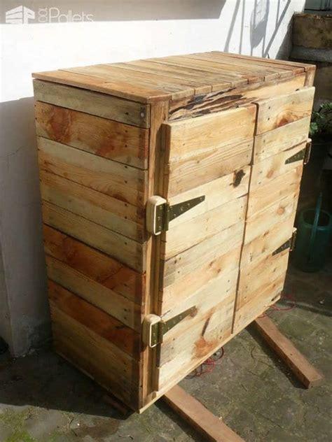 upcycled pallet dresser  pallets