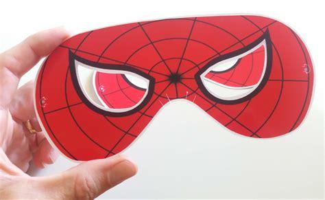 Máscara Do Homem Aranha (vermelha Preta ou Rosa) no Elo7