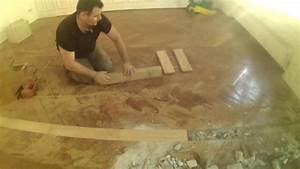 Eric Le Carreleur : parquet suppression cloisons raccord sols apr s doovi ~ Premium-room.com Idées de Décoration