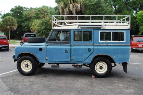land rover safari roof find used 1972 land rover series iii defender 109 lwb