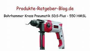 Bohrhammer Sds Max Test : test bohrhammer kress pneumatik sds plus 550 hmsl youtube ~ A.2002-acura-tl-radio.info Haus und Dekorationen
