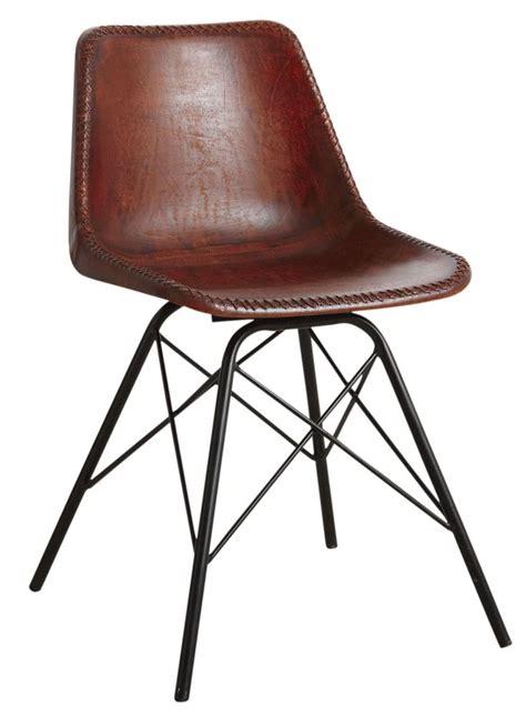 chaise en cuir les 25 meilleures id 233 es de la cat 233 gorie chaises en cuir marron que vous aimerez sur