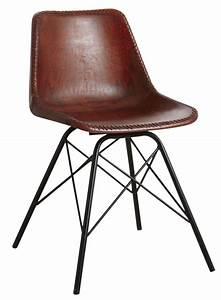 Chaise cuisine noire chaise pliante noire couture for Deco cuisine avec chaise design cuir