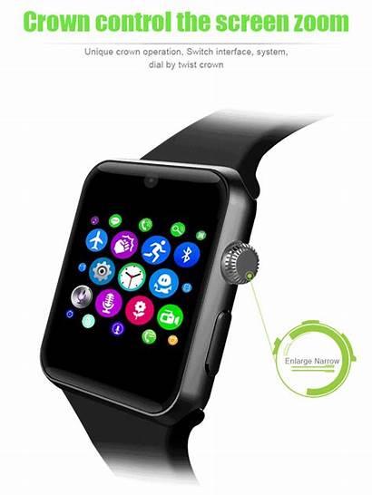 Phone Apple Ringing Sw25 Ordro Clone Smartwatch