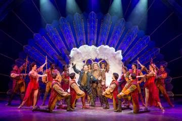 It loosely follows the plot of hamlet by william shakespeare, but it is modernised and set in the united states. 'Something Rotten!' at Smith Center spoofs Shakespeare, musicals | Las Vegas Review-Journal