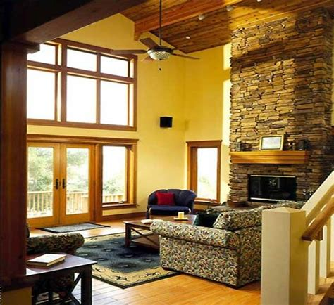 interior colors for craftsman style homes craftsman house plans with interior photos
