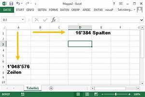 Pal Berechnen : excel calc maximale zeilen und spaltenzahl ~ Themetempest.com Abrechnung