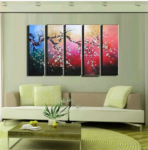 piece modern abstract wall canvas art large decorative