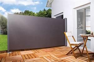 Brise Vue Sur Pied : store lat ral r tractable un brise vue efficace ~ Premium-room.com Idées de Décoration