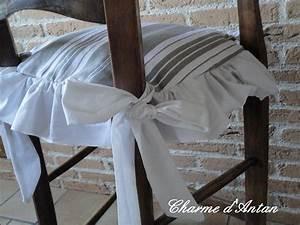 Galette De Chaise : galette de chaise shabby ~ Melissatoandfro.com Idées de Décoration