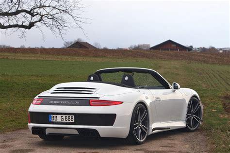 gemballa porsche 911 gemballa gives porsche 911 carrera s cabrio cool styling