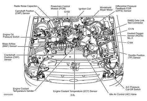Ford 3 0 Liter Engine Diagram 2000 ford ranger 3 0l v6 auto trans has check engine light