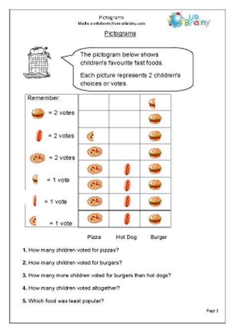 maths data handling worksheets for grade 3 statistics