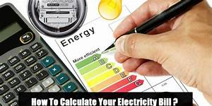 How To Calculate Your Electricity Bill  Simple Calculation