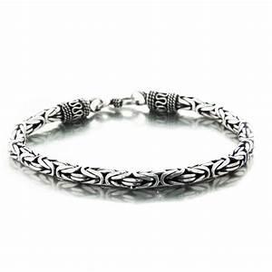 Bracelet En Argent Homme : bracelet argent tribal maille snake en 4 ou 5 mm ~ Carolinahurricanesstore.com Idées de Décoration