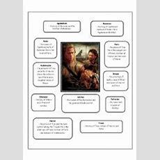 English Worksheets Troy Movie Worksheet