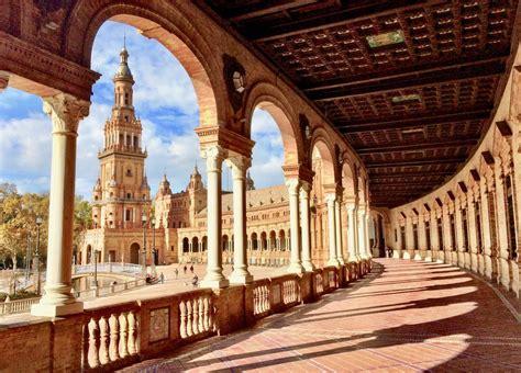 The historic architecture of Sevilla