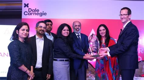 dale carnegie training india awards axis bank