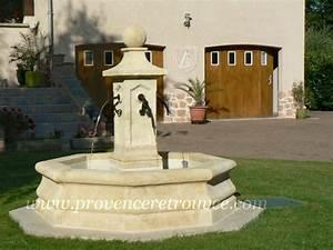 Fontaine Exterieur Zen : installer une fontaine en pierre dans son jardin ~ Nature-et-papiers.com Idées de Décoration