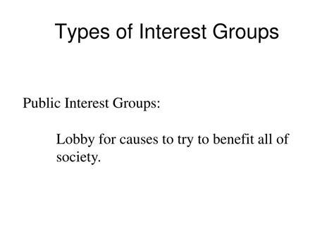 interest groups lobbying money powerpoint