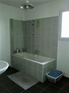 calcaire sur carrelage noir douche 12 messages With enlever calcaire carrelage salle de bain