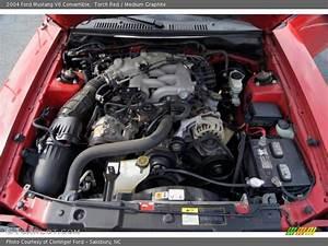 2004 Mustang V6 Convertible Engine