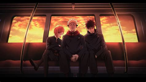 This high resolution wallpaper perfect fit on your any pc devices. Jujutsu Kaisen Wallpaper Train - Jujutsu Kaisen Iphone Wallpapers Wallpaper Cave - The hype ...