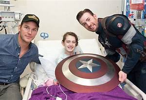 Hollywood Superheroes Visit Children's Hospital After ...