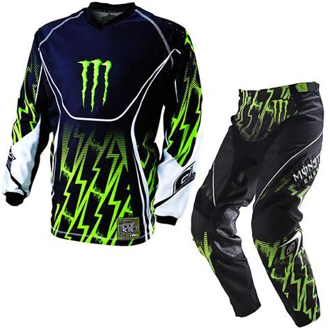monster energy motocross gloves details about oneal 2011 mayhem ricky dietrich monster