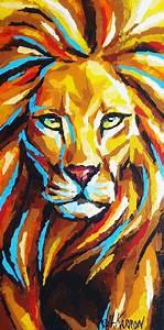 Lion Painting – Lion Fine Art Print How Do It Info