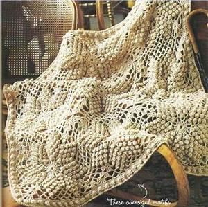 Bobbled Star Crochet Afghan ⋆ Crochet Kingdom