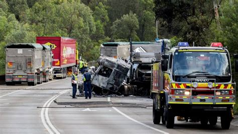 Two Trucks Involved In Crash On Picton Road On March 23