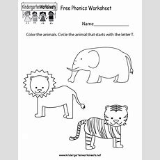 This Is A Fun Coloring Phonics Worksheet For Preschoolers Or Kindergarteners You Can Download