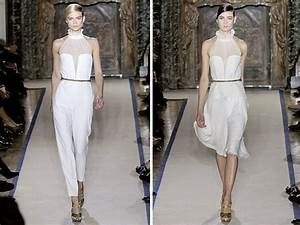 white hot wedding day looks from ysl onewedcom With ysl wedding dress