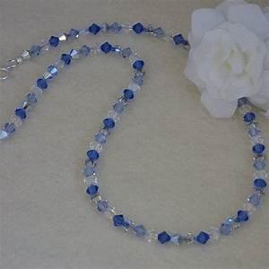Swarovski crystal beads necklace