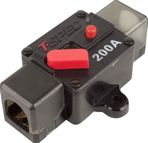 Spec Circuit Breaker Amp Fits Gauge Wire