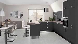 Decoration salon avec cuisine ouverte inspirations avec for Idee deco cuisine avec cuisine pas cher sur mesure