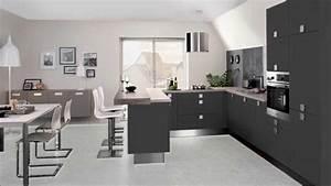 Decoration salon avec cuisine ouverte inspirations avec for Idee deco cuisine avec modele cuisine amenagee