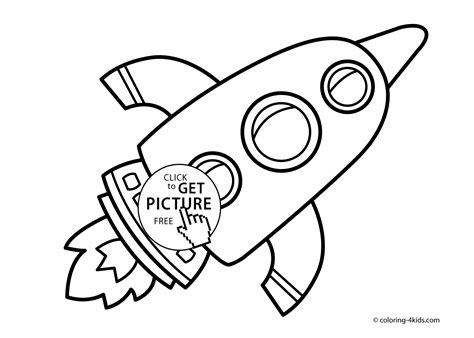 Rocket Coloring Pages Coloring Pages