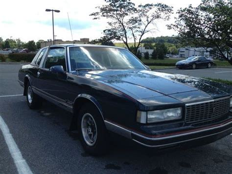 blue and white ls sell used 1987 chevy monte carlo ls with 350cui engine dk