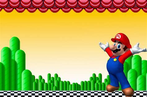 Free Printable Mario Invitations Cfcpoland