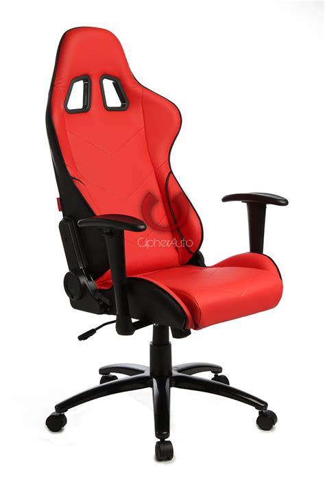 racing seat desk chair whitevan