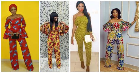 We Love These Beautiful Ankara Jumpsuits!   Amillionstyles.com