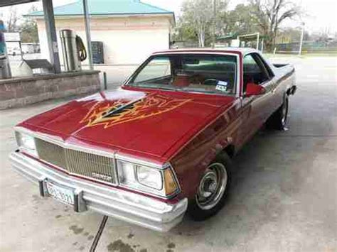 el camino royale buy used 1979 chevrolet el camino royal standard