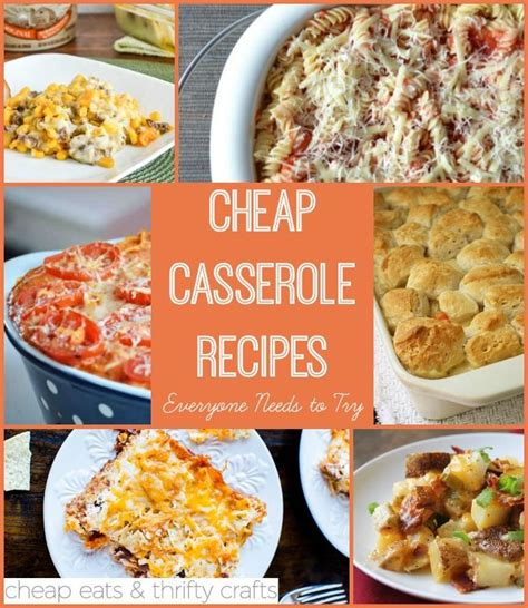 easy dinner casserole recipes cheap casserole recipes everyone needs to try easy recipes casserole recipes and gluten