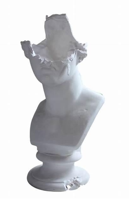 Statue Marble Transparent Sculpture Venus Head Pale