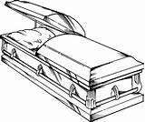 Coffin Drawing Clipart Clip Casket Drawings Cliparts Definition Library Merriam Perfect sketch template